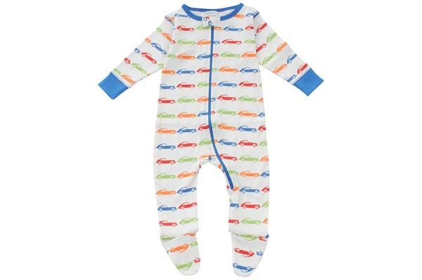 footed pajamas in emerson - Sweet Peanut