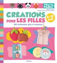"""""""DIY FOR GIRLS"""" by Charlie Pop -- 80 trendy step-by-step creations for girls from 8 to 12 to roundoff looks, bedroom decorations, throw neat parties and indulge in beautiful crafts and needlecrafts activities. ✣ Softcover with flaps / 128 pp / 22.5 x 25 cm / €12.95 ✣ From 8 onwards"""