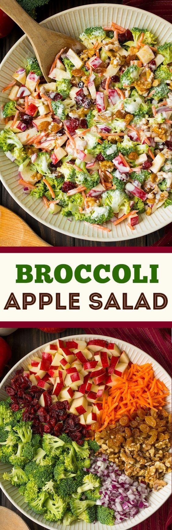Broccoli Apple Salad | Pechenuhi