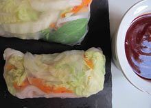 How To Make Perfect Vietnamese Summer Rolls Vietnamese Summer Rollsrice Paperhow