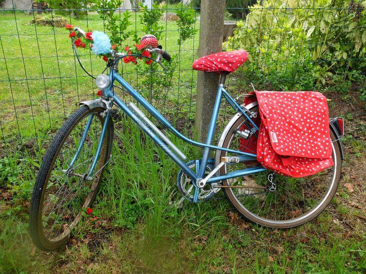 Mon vélo customisé.