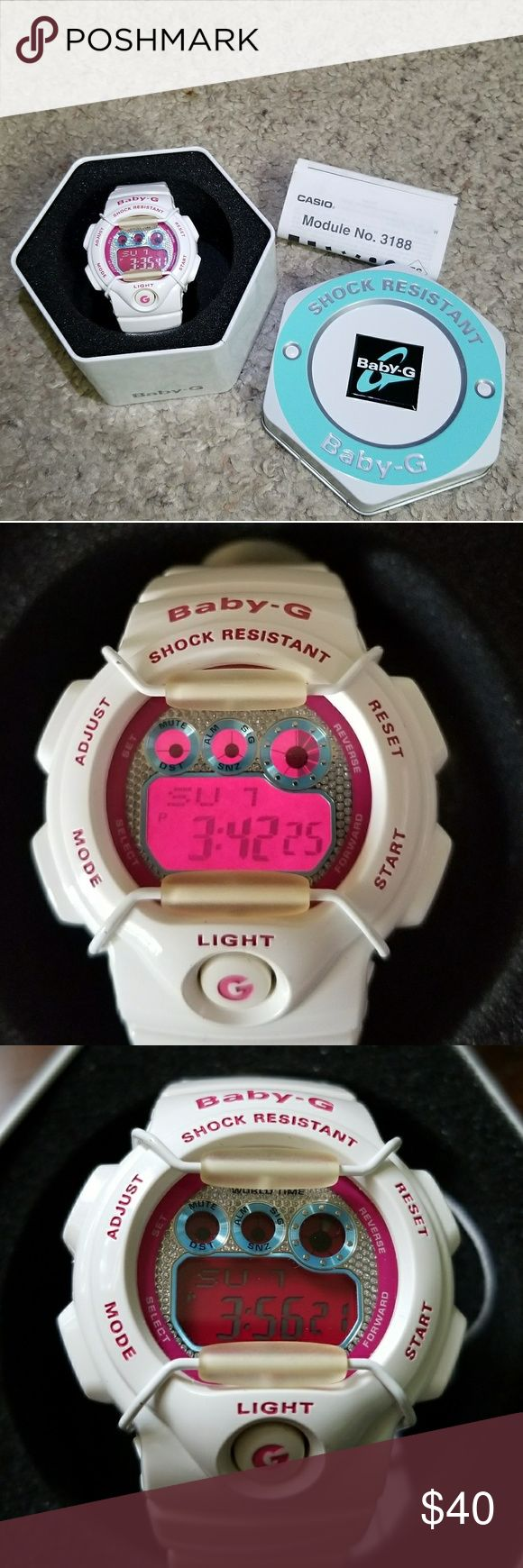 Baby G-shock For sale a used but in good condition casio Baby G-shock, it includes box and user's guide. G-Shock Accessories Watches