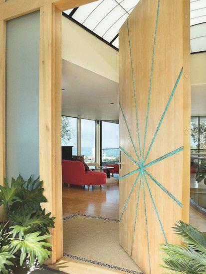Rhoda House, Modern Entry, San Diego