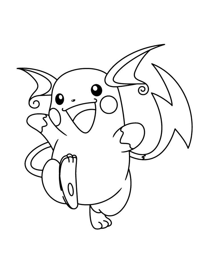 50 desenhos de Pokemon para colorir, pintar, imprimir! Moldes e riscos de Pokemon! - Espaço Educar desenhos para colorir