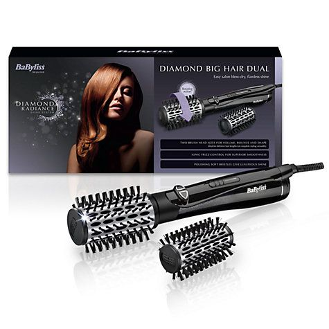 Buy BaByliss 2995U Diamond Big Hair Dual Rotating Brush Online at johnlewis.com