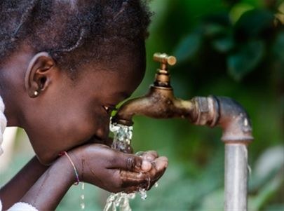 Clean water for one person
