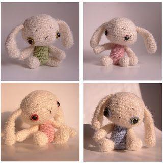 hekkagurumi: A nyúlon túl... Vagy a nyúl az? :) - amigurumi, horgolt babák, bubák
