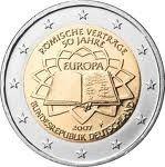 2€ 2007 Rooman sopimus 50 vuotta Saksa D