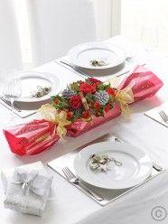 Festive Cracker Table Decoration