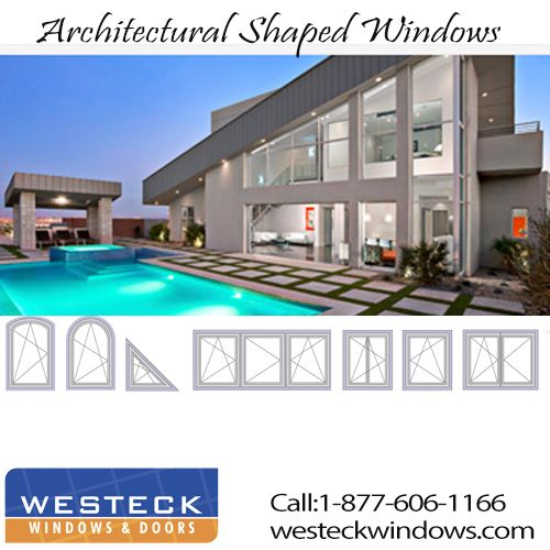 To achieve more natural lighting, Euro Series Windows by Westeck commercial windows can accommodate large span glass for maximum viewing area. For more information call: 1-877-606-1166.