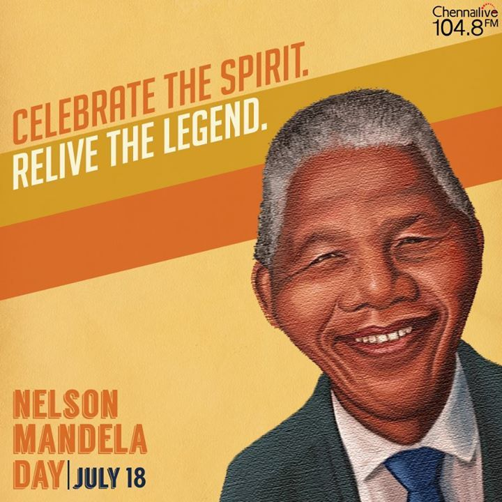 Today, pay a tribute to the man to whom freedom meant freeing others. Take some time, and make a difference in someone's life. Happy Mandela Day, everyone. #NelsonMandela #legend