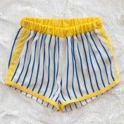 mini rodini stripe shorts