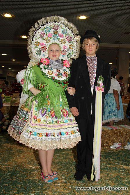 Slovak folk costume from Selenča, Vojvodina - Serbia,