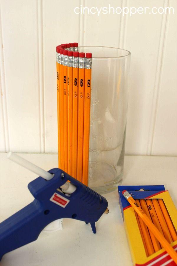 Teacher Gift Pencil Vase
