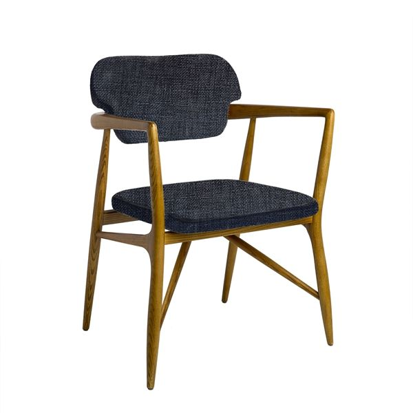 Welcome to the Pols Potten webshop and catalogue - Product Portfolio > 2016-I SPRING SUMMER > furniture > chairs > Dining chair Caracas dark grey