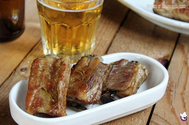 Costine+di+maiale+alla+birra