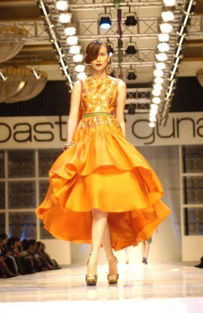 luxury orange by Sebastian Gunawan