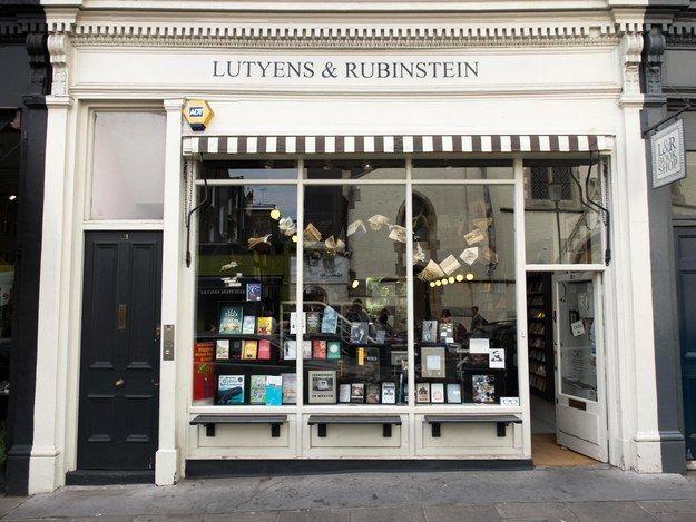 Lutyens & Rubenstein Bookshop, London, England
