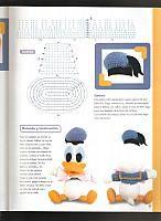 Paperino disney donald duck amigurumi 5