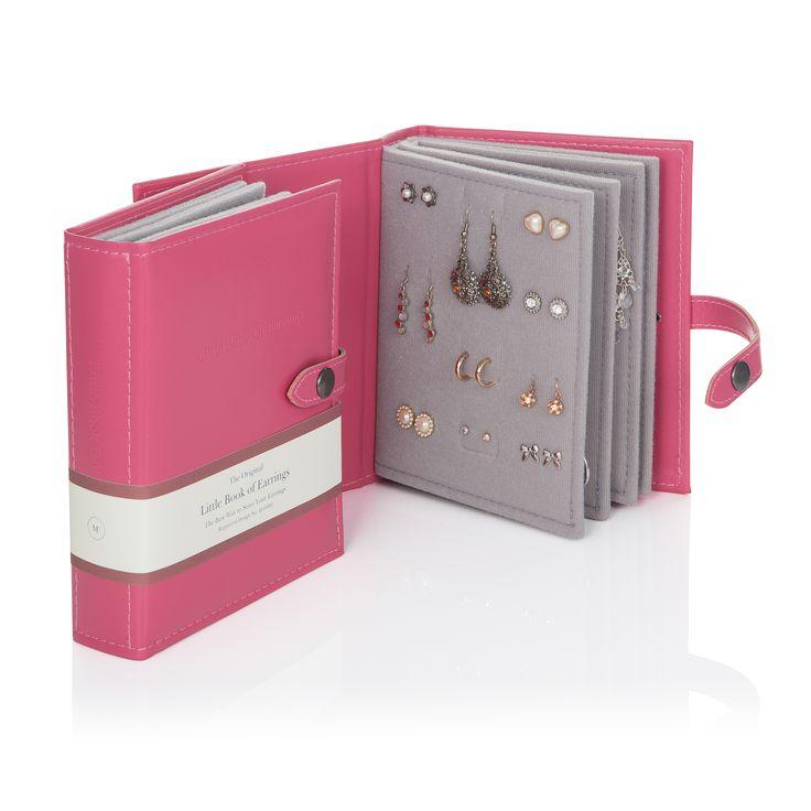 Little Book of Earrings - Pink