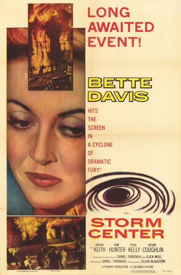 """... she's got Bette Davis eyes ..."" Betty Davis is a librarian in the 1956 movie Storm Center."