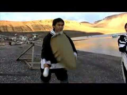 Arctic Bay, Nunavut; such a beautiful place. Traditional drumming and singing.