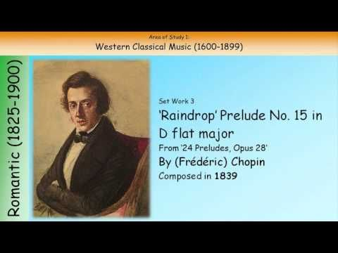 ▶ 3. 'Raindrop' Prelude No. 15 In D Flat Major - Chopin (GCSE Music Edexcel) - YouTube