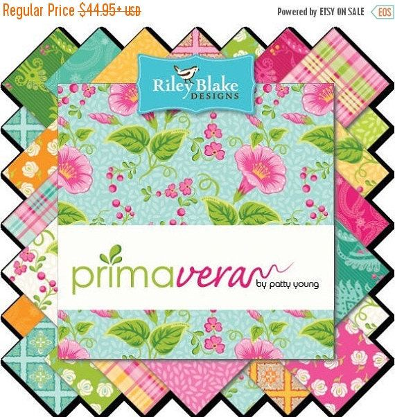 Anniversary Sale Primavera Bundle by Patty Young for Riley Blake, Choose Your Bundle Size, Complete Collection, 21 Fabrics by CurlyGirlFabric on Etsy