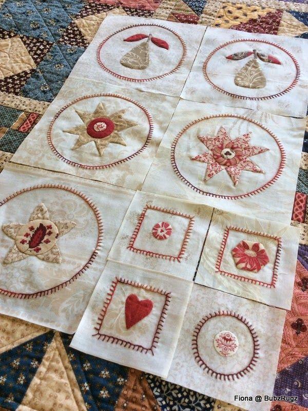 BubzRugz: Stitching along....