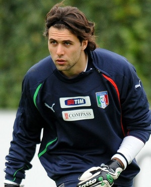 Salvatore Sirigu (Italian footballer who plays as a goalkeeper for Ligue 1 club Paris Saint-Germain. Since 2010 he has been a member of the Italian national team and has been selected for UEFA Euro 2012 and the 2014 FIFA World Cup.) ♥