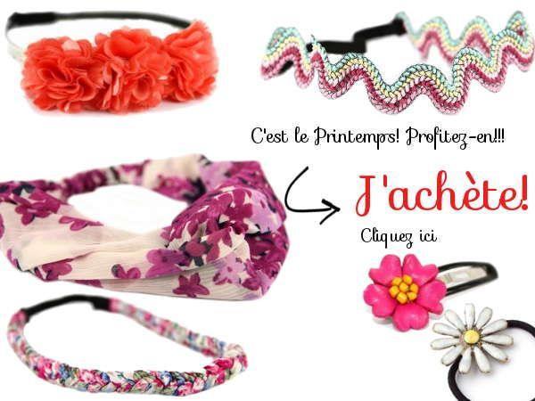 Retrouvez les nouvelles tendances de la mode version Printemps. Optez pour les imprimés à fleurs et liberty, une jolie sélection féminine et printanière.