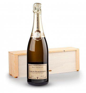 Louis Roederer Brut Premier Champagne: Wine Gift Crates - <p