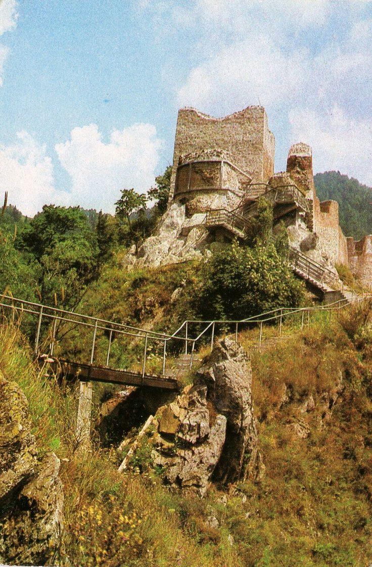 Cetatea Poienari, 1976