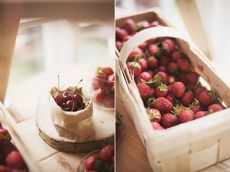 Local strawberries and cherries by GRUNT STUDIO