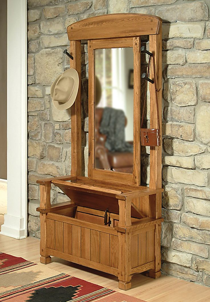 Sunny Designs Coat Racks Sedona (Hall Tree) From Trends Furniture, Inc.