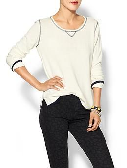 Michael Stars Cashmere Blend Crew Neck Sweater | Piperlime