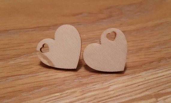 Hearts  https://www.etsy.com/uk/listing/253311484/unique-wooden-heart-earrings