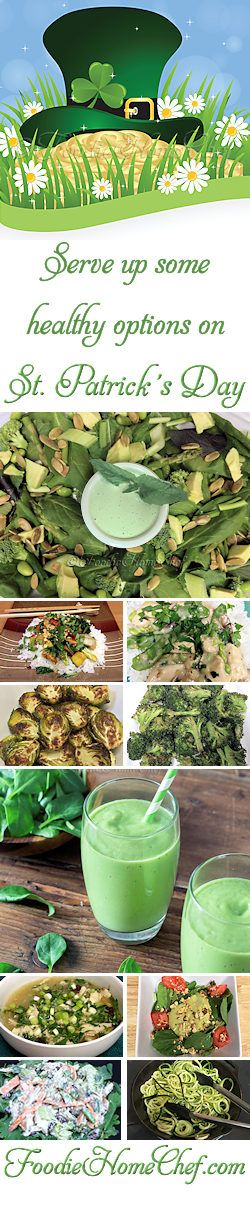 Lots of healthy recipes for St. Patrick's Day!