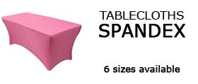 Spandex Tablecloths, Wedding Table Linens, Spandex Table Covers   Los Angeles, California