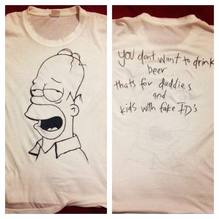 The Simpsons. #DIY #homersimpson