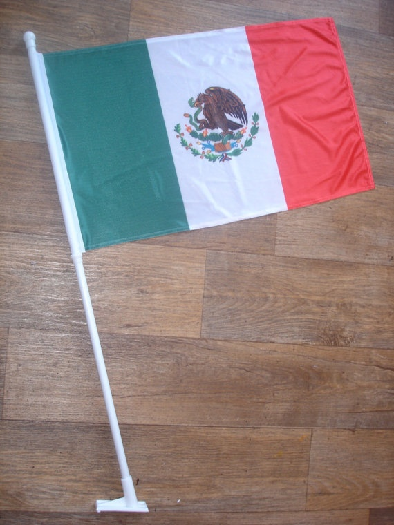 custom made mexico flag by customflag on Etsy, $55.00