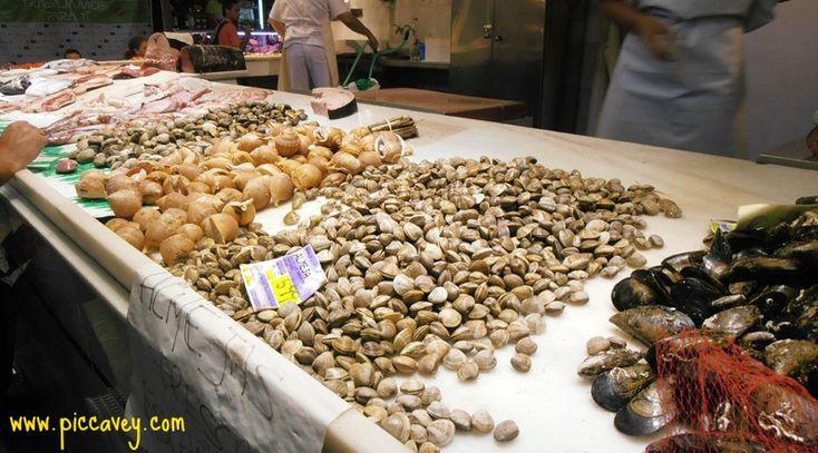 #Motril fish in #Granada ´s San Agustin Market  http://www.piccavey.com/spanish-food-market-granada/  #spain #spanish #food #foodie #fish #market #andalusia
