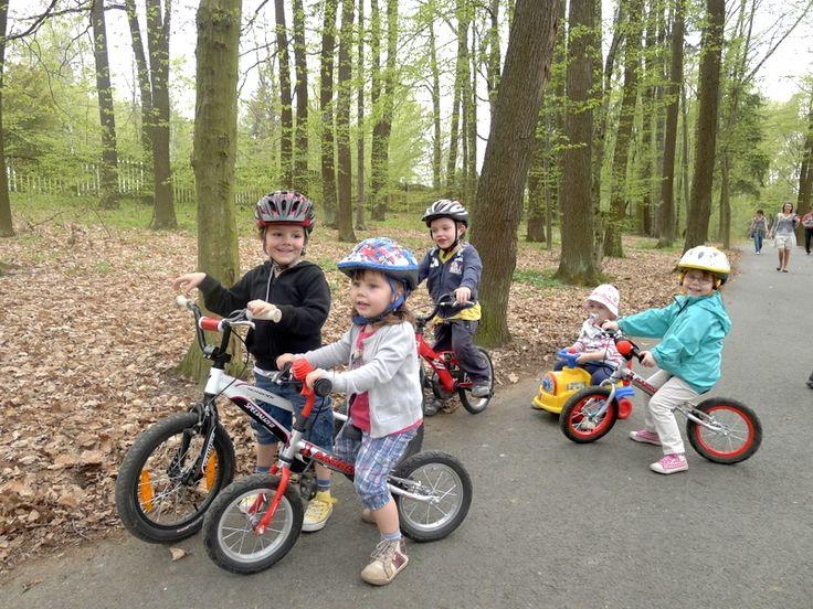 Náš malý cyklistický oddíl