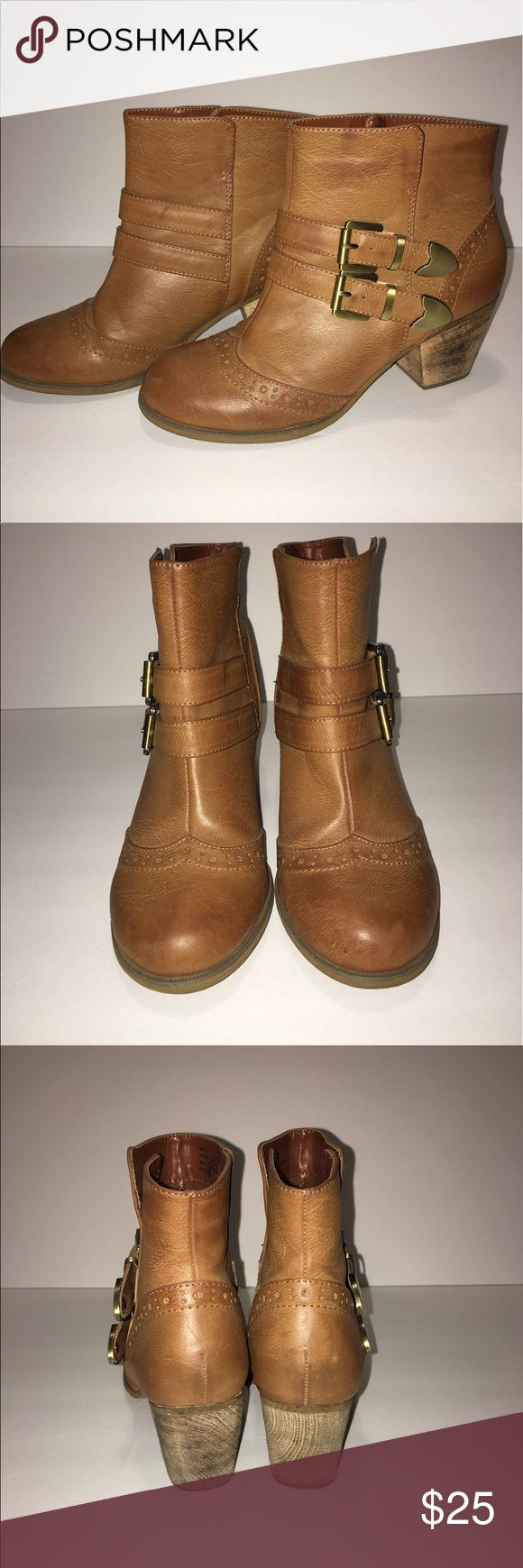 Booties Restricted booties size 7.5 - worn once Restricted Shoes Ankle Boots & Booties