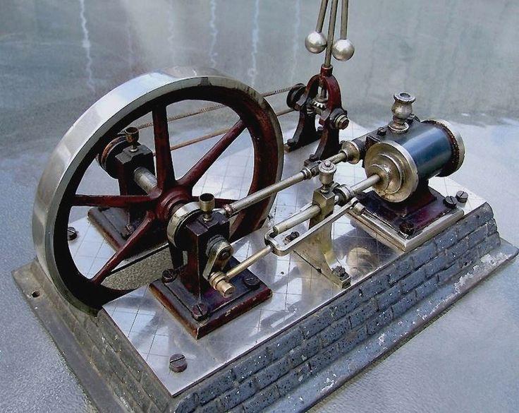 V. Large ERNST PLANK Steam Plant Steam Engine - Germany in Toys & Hobbies, Models & Kits, Tools, Supplies & Engines | eBay