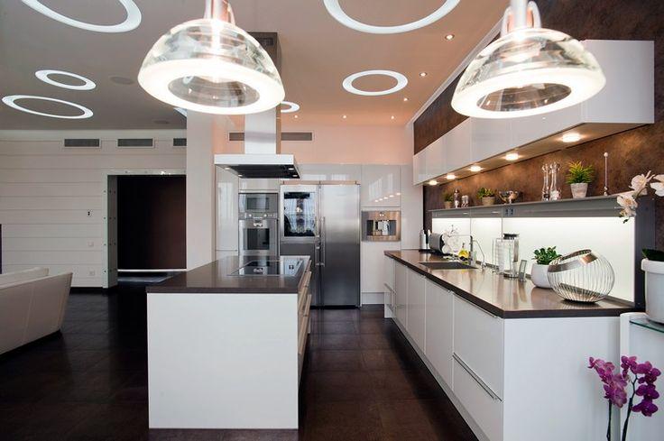 1000 id es sur le th me faux plafond cuisine sur pinterest - Faux plafond cuisine ouverte ...