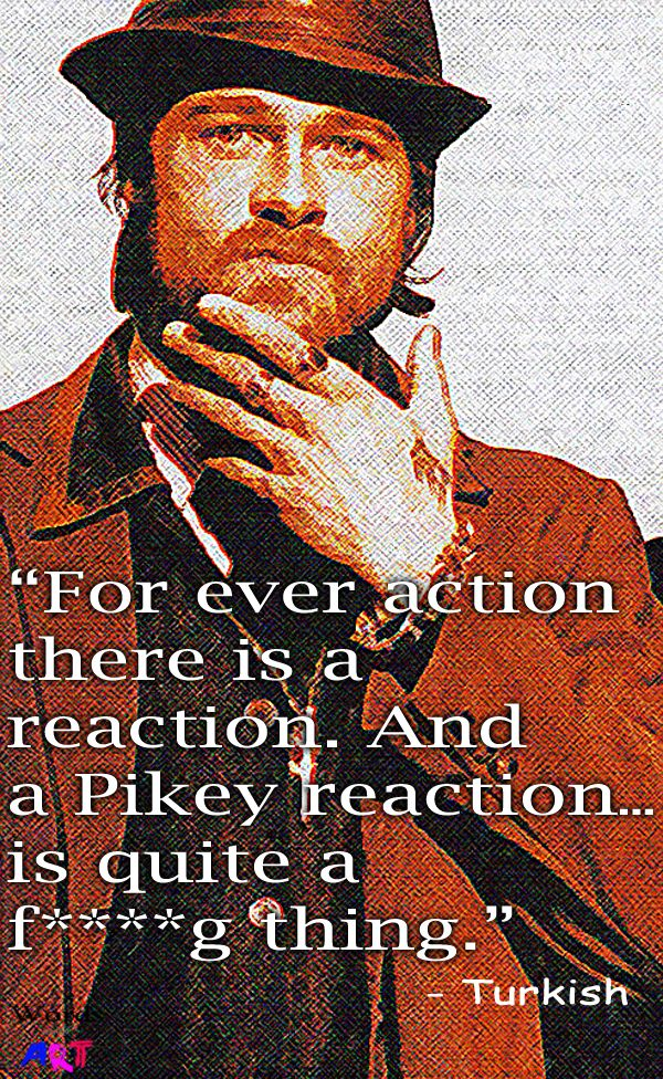 Quote from movie Snatch
