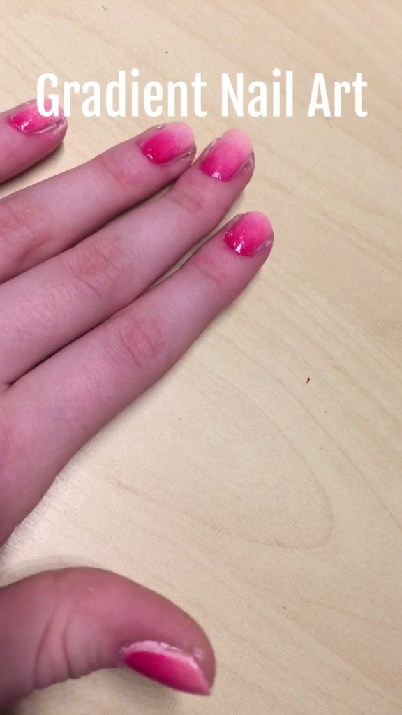 Gradient French Manicure: 25+ Best Ideas About Ombre Nail On Pinterest