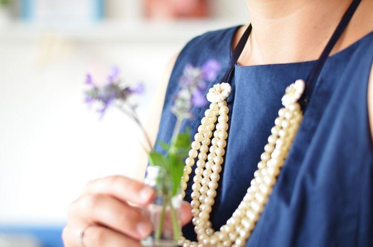Come trasformare una semplice collana di perle - Girlzilla