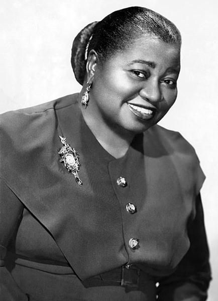 Hattie McDaniel, American actress (Gone With the Wind)  1895-1952